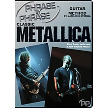 MJS Music Publications Classic Metallica: Phrase by Phrase Guitar Method DVD