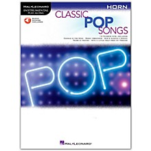Hal Leonard Classic Pop Songs For Horn - Instrumental Play-Along Book/Audio Online