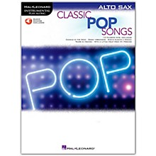 Hal Leonard Classic Pop Songs for Alto Sax - Instrumental Play-Along Book/Audio Online