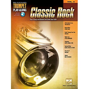 Hal Leonard Classic Rock - Trumpet Play-Along Volume 3 Book/Audio Online by Hal Leonard
