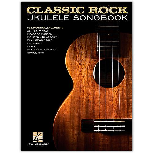 Hal Leonard Classic Rock Ukulele Songbook