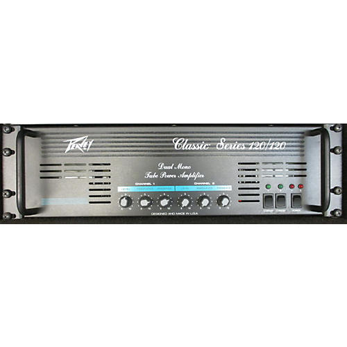 used peavey classic series 120 rack tube guitar amp head guitar center. Black Bedroom Furniture Sets. Home Design Ideas