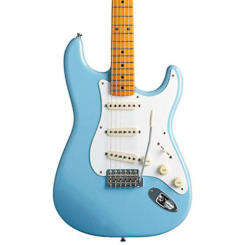 fender classic series 39 50s stratocaster electric guitar daphne blue maple fretboard guitar center. Black Bedroom Furniture Sets. Home Design Ideas