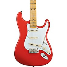 Classic Series '50s Stratocaster Electric Guitar Fiesta Red Maple Fretboard