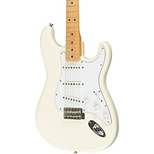 Classic Series '70s Stratocaster Electric Guitar Olympic White Maple Fretboard