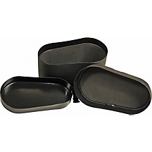 Protechtor Cases Classic Series Deluxe Bongo Case, Foam-lined