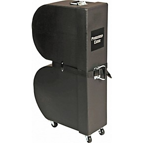 protechtor cases classic series upright timbale case with wheels black guitar center. Black Bedroom Furniture Sets. Home Design Ideas