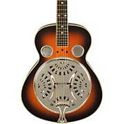 Classic Spider Resonator Sunburst Roundneck