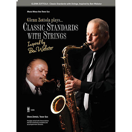 Music Minus One Classic Standards with Strings Music Minus One Series Book with CD Performed by Glenn Zottola