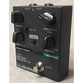 used tc electronic classic sustain parametric eq pedal guitar center. Black Bedroom Furniture Sets. Home Design Ideas
