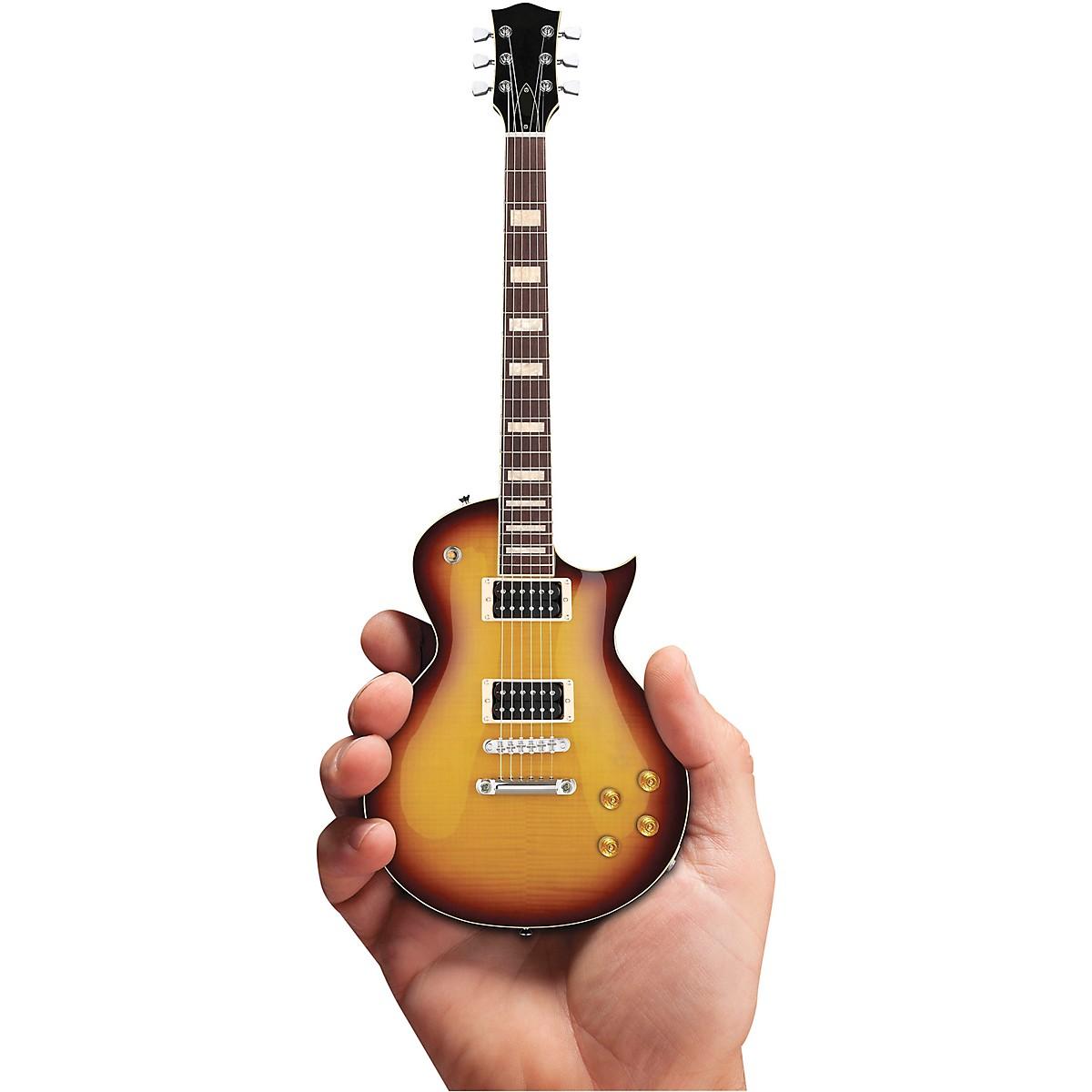 Axe Heaven Classic Tobacco Sunburst Electric Guitar Officially Licensed Miniature Guitar Replica
