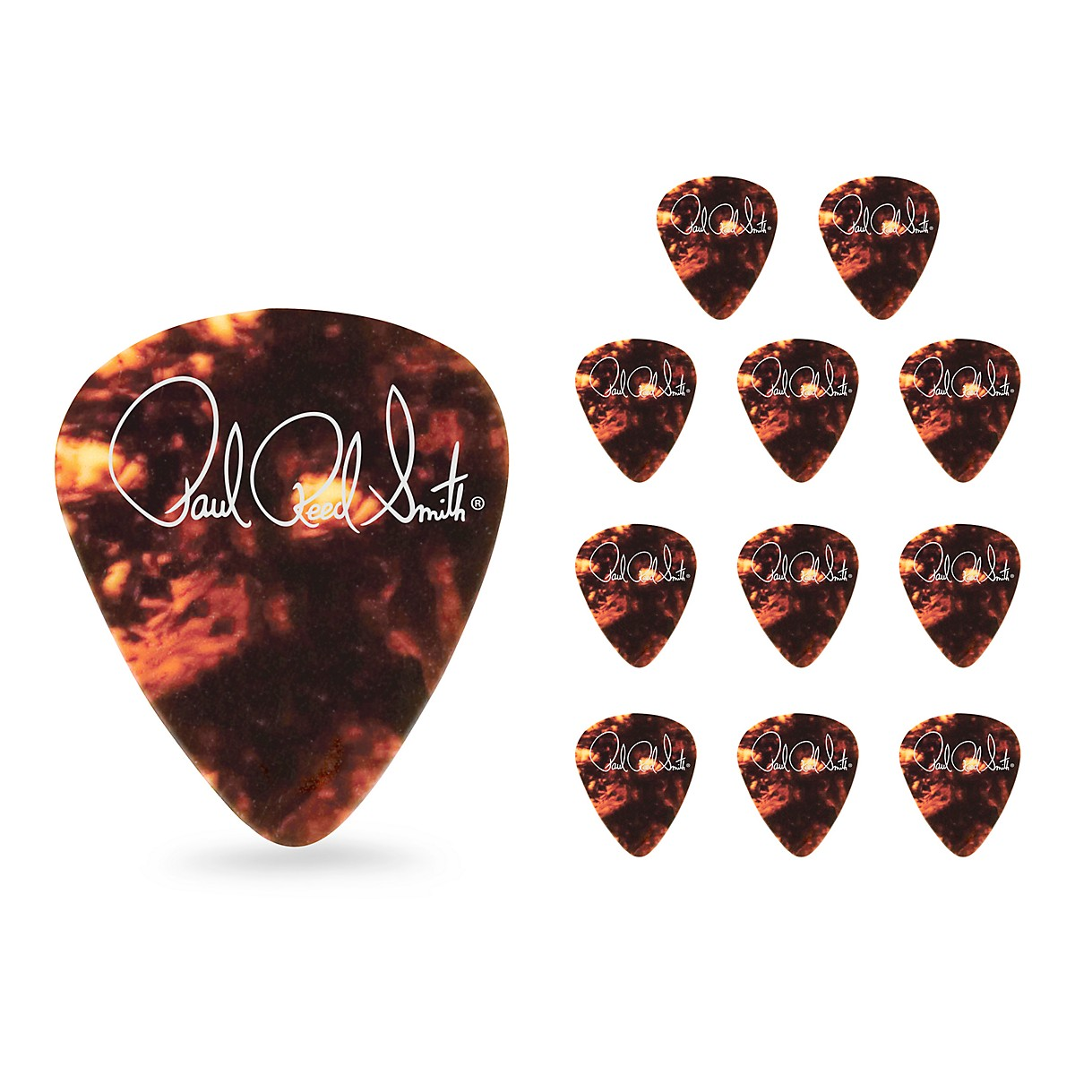 PRS Classic Tortoise Shell Celluloid Guitar Picks