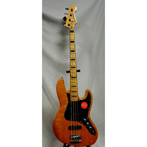 used squier classic vibe 70s jazz bass electric bass guitar natural and black guitar center. Black Bedroom Furniture Sets. Home Design Ideas