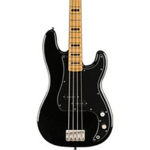 Classic Vibe '70s Precision Bass Maple Fingerboard Black