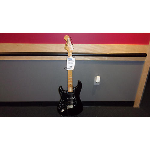 used squier classic vibe 70s stratocaster electric guitar black guitar center. Black Bedroom Furniture Sets. Home Design Ideas