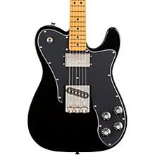 Classic Vibe '70s Telecaster Custom Maple Fingerboard Electric Guitar Black