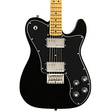 Classic Vibe '70s Telecaster Deluxe Maple Fingerboard Electric Guitar Black