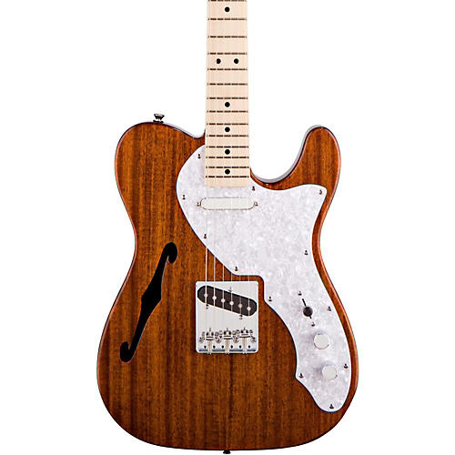 squier classic vibe telecaster thinline electric guitar natural guitar center. Black Bedroom Furniture Sets. Home Design Ideas