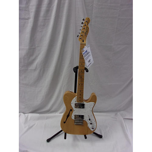 used squier classic vibe telecaster thinline hollow body electric guitar natural guitar center. Black Bedroom Furniture Sets. Home Design Ideas