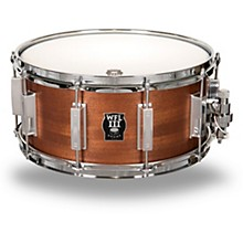 WFL Classic Wood Mahogany Snare Drum with Chrome Hardware