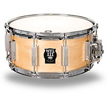 WFL Classic Wood Maple Snare Drum with Chrome Hardware