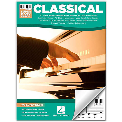 Hal Leonard Classical - Super Easy Songbook