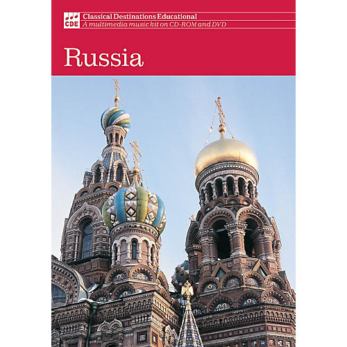 Classical Destinations Educational Classical Destinations: Russia (Russia) DVD Composed by Various
