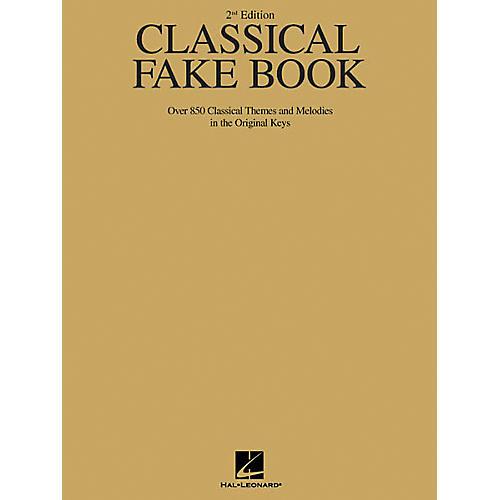Hal Leonard Classical Fake Book - 2nd Edition