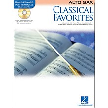Hal Leonard Classical Favorites Alto Sax Book/CD Instrumental Play-Along