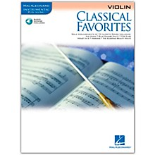 Hal Leonard Classical Favorites Violin - Instrumental Play-Along (Book/Online Audio)