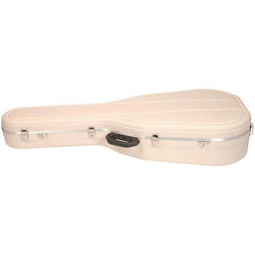Hiscox Cases Classical Guitar Case/Medium Ivory Shell/Silver Int-Pro II