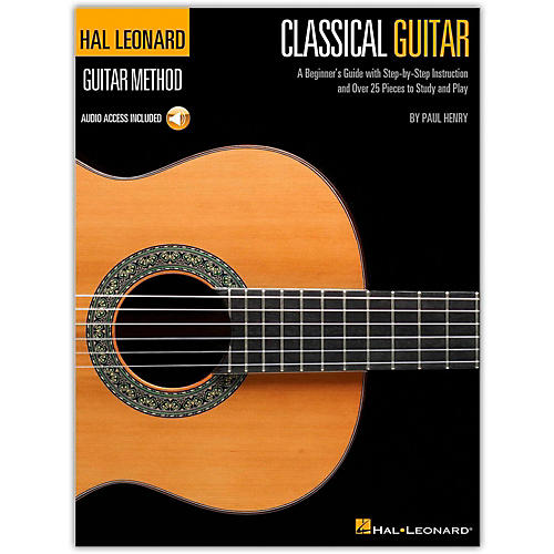 Hal Leonard Classical Guitar Guitar Method (Book/Online Audio)