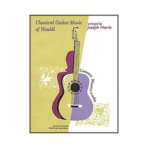 Creative Concepts Classical Guitar Music of Vivaldi Book
