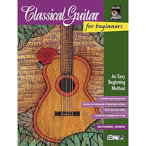Alfred Classical Guitar for Beginners Book/CD