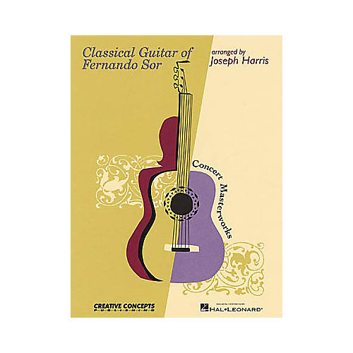 Creative Concepts Classical Guitar of Fernando Sor Book