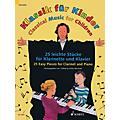 Schott Classical Music for Children (25 Easy Pieces for Clarinet and Piano) Woodwind Solo Series Softcover thumbnail