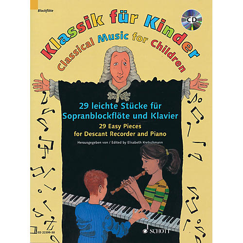 Schott Classical Music for Children Woodwind Solo Series Softcover with CD