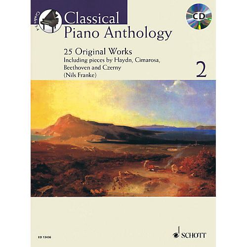 Schott Classical Piano Anthology, Vol. 2 Schott Softcover with CD Composed by Various Edited by Nils Franke