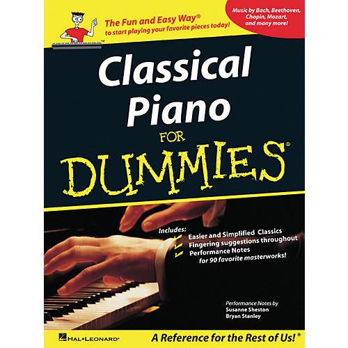 Hal Leonard Classical Piano For Dummies