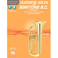 Hal Leonard Classical Solos for Baritone B.C., Vol. 2 Instrumental Folio Series Softcover with CD