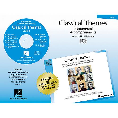 Hal Leonard Classical Themes - Level 1 (Hal Leonard Student Piano Library) Piano Library Series CD