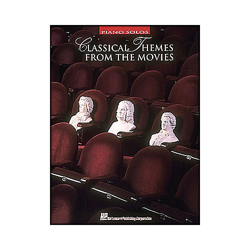 Hal Leonard Classical Themes From The Movies arranged for piano solo