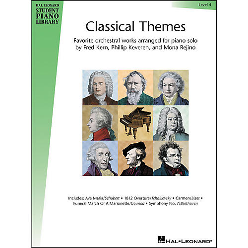 Hal Leonard Classical Themes Level 4 Hal Leonard Student Piano Library