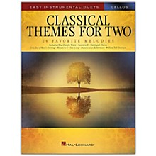 Hal Leonard Classical Themes for Two Cellos - Easy Instrumental Duets