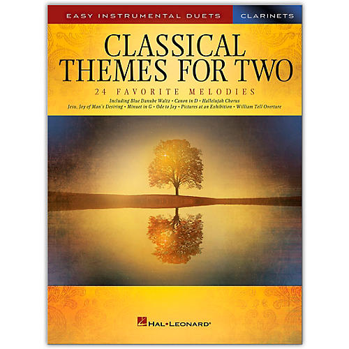 Hal Leonard Classical Themes for Two Clarinets - Easy Instrumental Duets