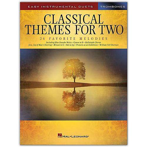 Hal Leonard Classical Themes for Two Trombones - Easy Instrumental Duets