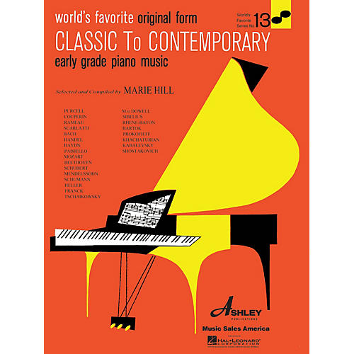 Ashley Publications Inc. Classical to Contemporary Piano Music World's Favorite (Ashley) Series Softcover