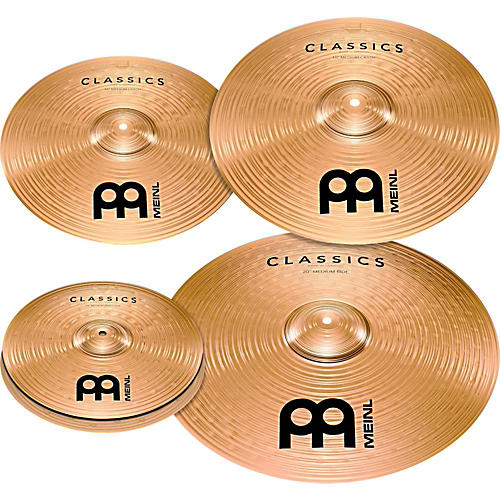 Meinl Classics Bonus Pack Cymbal Box Set with FREE 18