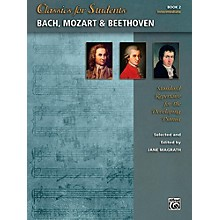 Alfred Classics for Students: Bach, Mozart & Beethoven, Book 2 - Intermediate