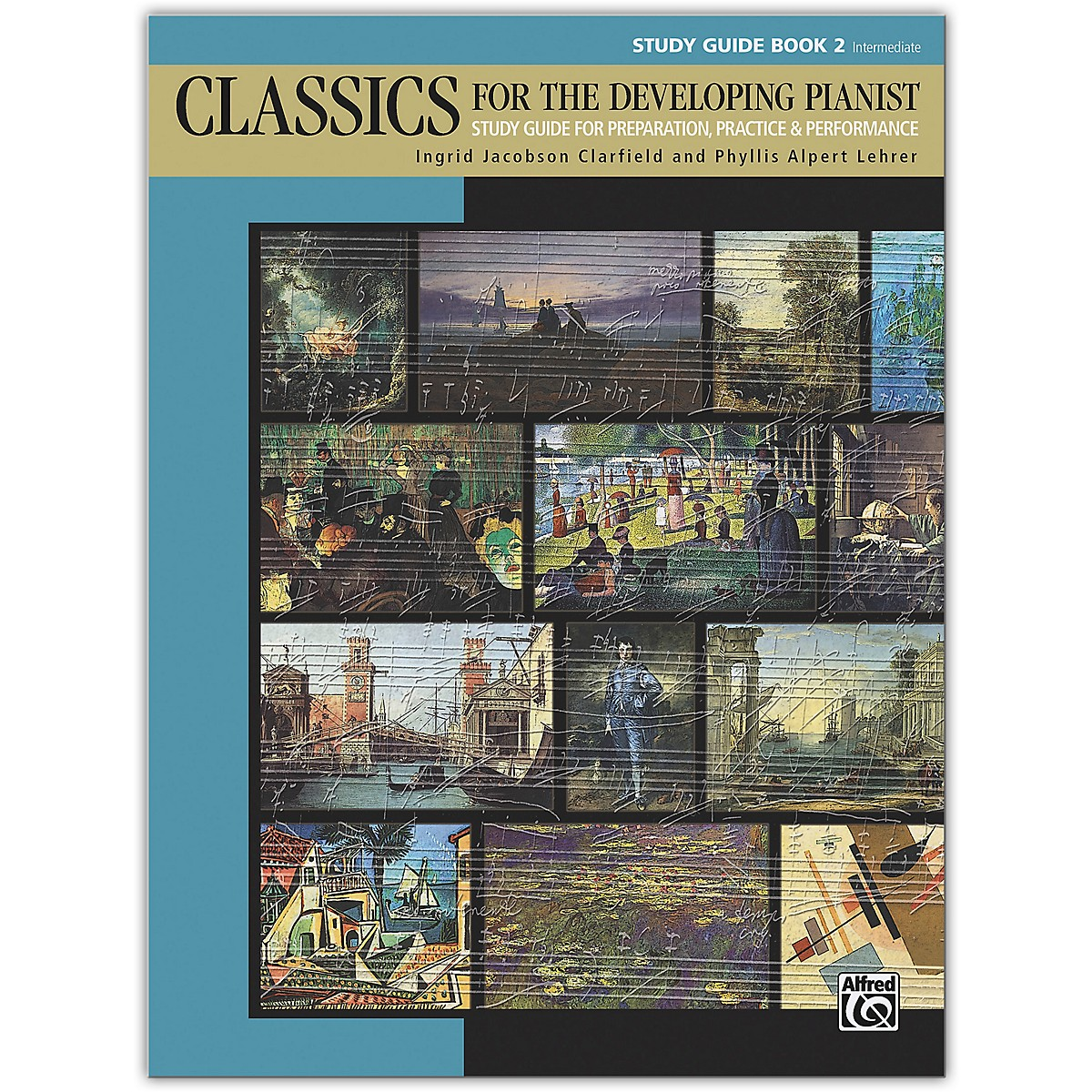 Alfred Classics for the Developing Pianist, Study Guide Book 2 Intermediate
